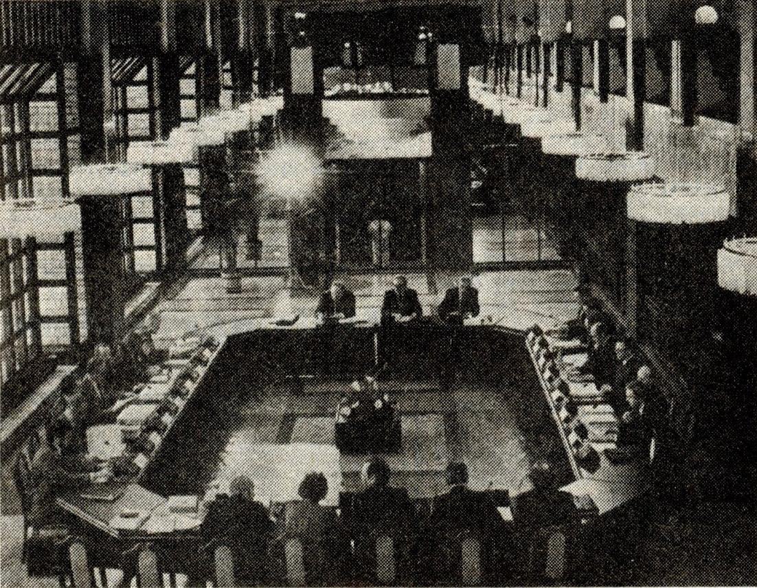 15. aprillil algas Eesti ja NSV Liidu ametliku delegatsiooni kohtumine. Foto: Peeter Raidla.