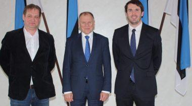 Ivari Padar, Rainer Vakra koos Vytenis Andriukaitisega