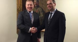 Marko Mihkelson ja Jussi Niinistö
