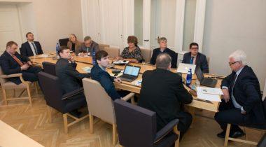 Rahanduskomisjoni kohtumine Eesti Töötuskassa esindajatega