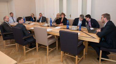 Rahanduskomisjoni kohtumine Riigi Tugiteenuste Keskuse juhiga