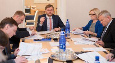 Rahanduskomisjoni kohtumine Tööanjate Keskliidu juhiga