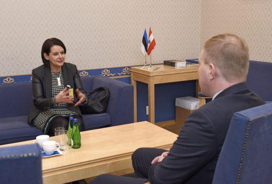 Kohtumine Austria suursaadikuga