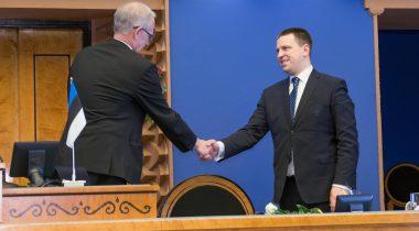 Jüri Ratas, Eiki Nestor