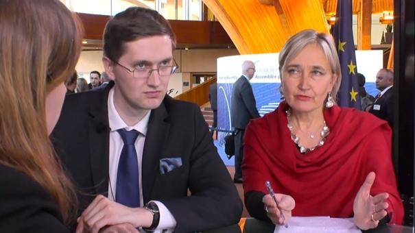 Marianne Mikko ja Jaak Madison