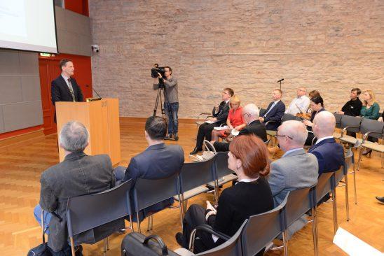 Erakondade rahastamise järelevalve komisjoni korraldatud konverents