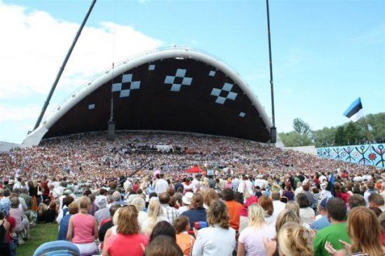 Eesti laulupidu. Foto autor: Karabinier