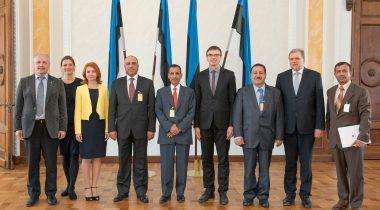 Väliskomisjoni kohtumine Jordaania parlamendi esindajatekoja väliskomisjoni delegatsiooniga
