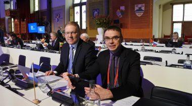 Riigikaitsekomisjoni esimees Marko Mihkelson ja väliskomisjoni esimees Sven Mikser osalevad Euroopa Liidu ühise välis- ja julgeolekupoliitika ja julgeoleku- ja kaitsepoliitika (CFSP/CSDP) konverentsil Haagis