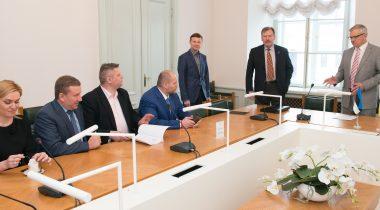 Rahanduskomisjoni ja Ukraina parlamendi saadikud 19.04.2016
