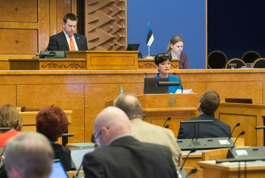 Riigikogu istung 7. aprillil 2016
