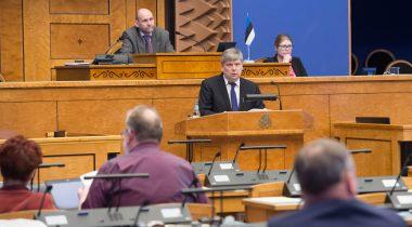 Riigikogu istung 6. aprillil.