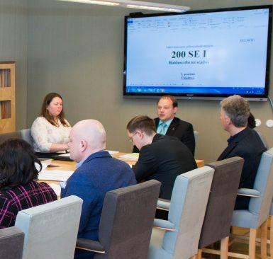 Põhiseaduskomisjoni istung 21. märtsil, kus arutati haldusrefromi eelnõu.