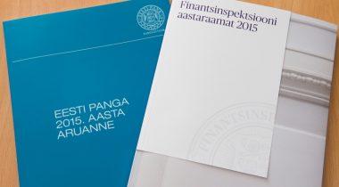 Eesti Panga ja finantsinspektsiooni 2015. aasta aruanded