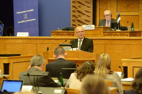 Eiki Nestor ENPA alalise komistee istungil