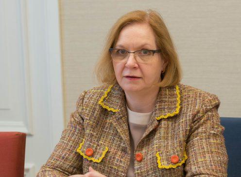 Sotsiaalkomisjoni liige Maris Lauri