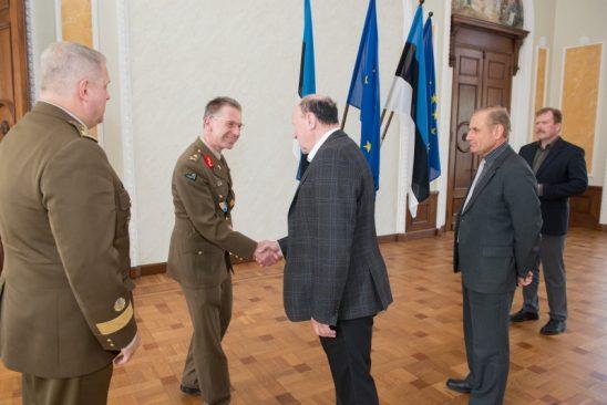 Kohtumine Luksemburgi Suurhertsogiriigi Kaitseväe juhatajaga