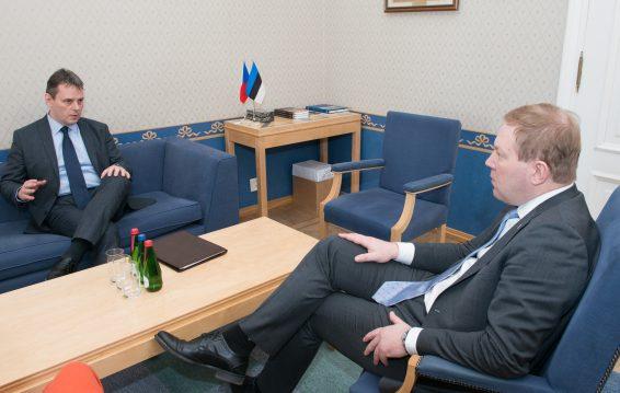 Kohtumine Tšehhi suursaadikuga