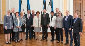 Helir-Valdor Seeder koos Baieri liidumaa parlamendidelegatsiooniga