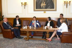 Kalle Palling met with Vice President of the Bulgarian parliament Dimitar Glavchev