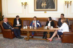 Kalle Palling kohtumisel Bulgaaria parlamendi aseesimehe Dimitar Glavcheviga