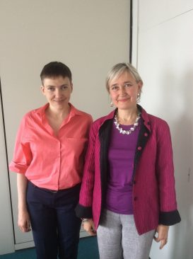 adia Savtšenko ja Marianne Mikko