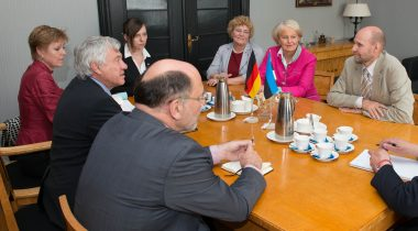 Seeder discussed cooperation with the Baltic friendship group of German parliament