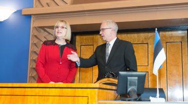 Спикер Рийгикогу Эйки Нестор встретился со спикером парламента Болгарии Цецкой Цачевой.