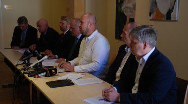 Tallinna Sadama uurimiskomisjoni pressikonverents