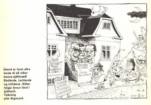 Eesti iseseisvuse tunnustamine. Nord, 1992, nr. 14.