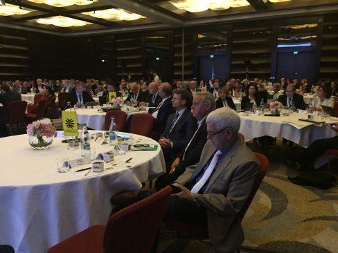 Aivar Sõerd Bukarestis Euroopa Maksuametite Organisatsiooni (IOTA) peaassamblee 20. aastapäeva juubeliüritusel.