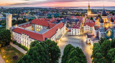 Toompea loss õhust. Foto: Kaupo Kalda