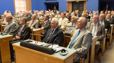 Riigikogu ja 20. Augusti Klubi tähistasid taasiseseisvumispäeva ühisistungiga