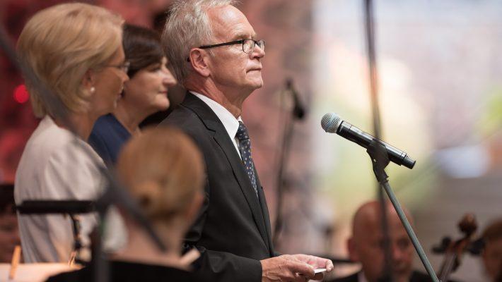 Riigikogu esimees Eiki Nestor Läti iseseisvuse taastamise 25. aastapäeval