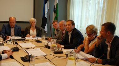 Sotsiaalkomisjoni istung, 17. august 2016