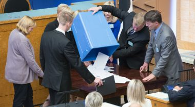 Voting in the Riigikogu