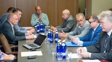 Riigikogu korruptsioonivastane erikomisjoni istung ERMi teemal