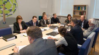 Riigikogu õiguskomisjoni istung