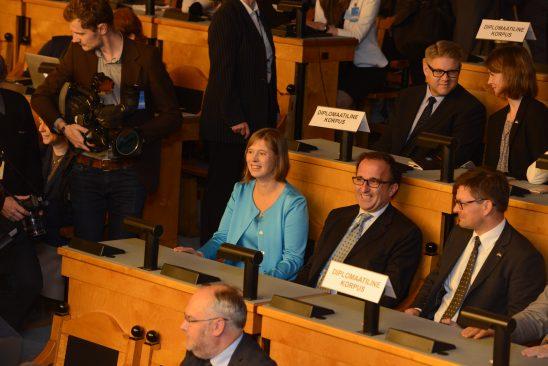 Kersti Kaljulaid presidendivalimistel