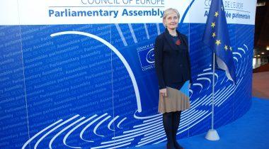 Руководитель эстонской делегации в ПАСЕ Марианне Микко