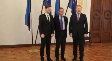 Kalle Pallingu ja Marko Mihkelsoni kohtumine Euroopa Komisjoni julgeolekuvoliniku Julian Kingiga