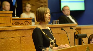 Vabariigi President Kersti Kaljulaid
