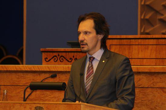Kultuuriminister Indrek Saar