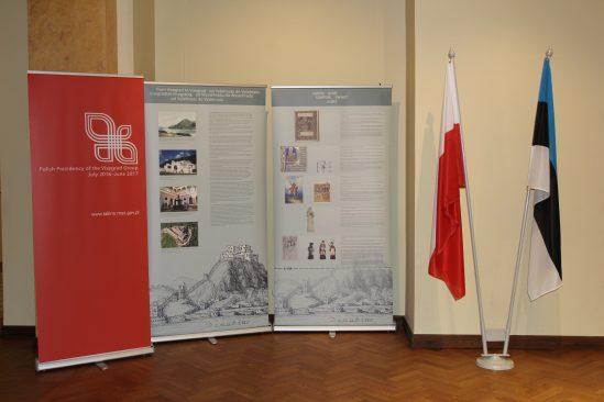 """Näituse """"Visegrádist Visegrádini. Ühine pärand. Ühine tulevik"""" teos"""