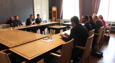 Rahanduskomisjoni ja IMFi delegatsiooni kohtumine