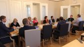 Rahanduskomisjoni ja Eelarvenõukogu esimehe Raul Eametsa kohtumine