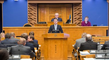 Members of the Riigikogu expressed no confidence in the Prime Minister