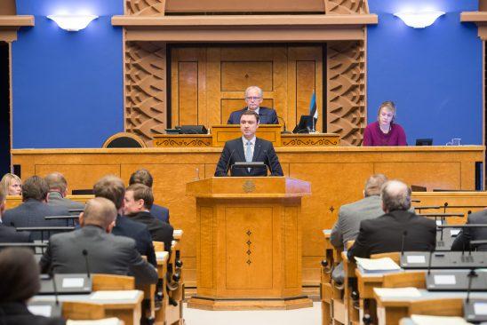 Riigikogu liikmed umbusaldasid peaministrit