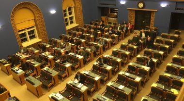 15. detsembri ööistung Riigikogus.