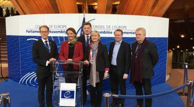 Руководители делегаций Северных и Балтийских государств в Парламентской ассамблее Совета Европы (ПАСЕ)
